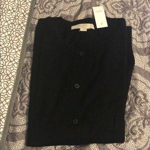 Loft Plus black cardigan